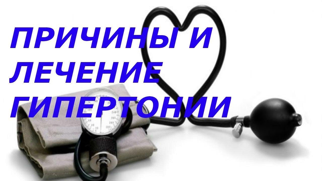 причины и лечение гипертонии