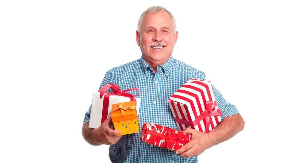 сюрприз для пенсионера
