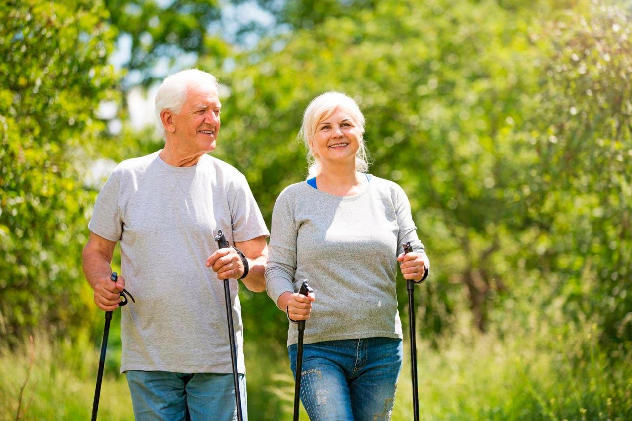 пожилые занимаются